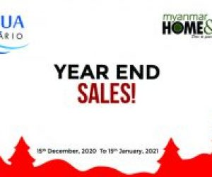 Year End Sales by ACQUA & Myanmar Home & Decor