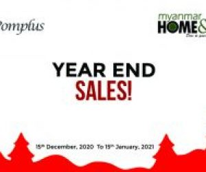 Year End Sales by G-Pomplus & Myanmar Home & Decor