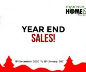 Year End Sales by HP Engineering & Myanmar Home & Decor Magazine