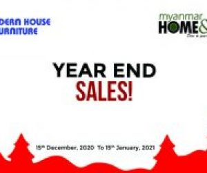 Year End Sales by Modern House & Courts Myanmar & Myanmar Home & Decor Magazine